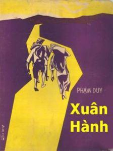 Trang bìa bản nhạc, do hoạ sĩ Duy Liêm vẽ, ấn hành tại Saigon năm 1959