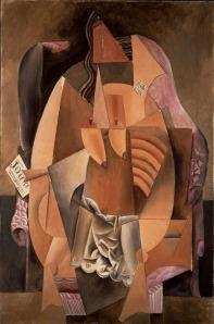 Picasso-Femme-assise-dans-un-fauteuil-Eva-1913