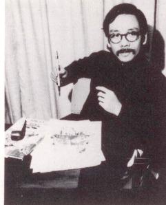 Võ Đình ( 1933 - 2009 ) ảnh Daily News 1971, New York