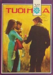 Bìa TH số 207 Nụ hồng cho con - tranh ViVi