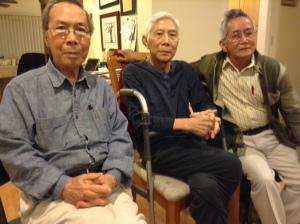 Đinh Cường - Nguyễn Xuân Hoàng - Nguyễn Xuân Thiệp San Jose - tháng 9.2013