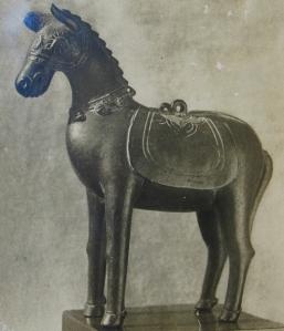 Ngựa, tượng đồng nhỏ, thế kỷ 11, Huế