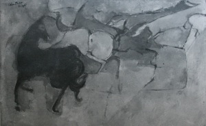 Ngựa, Tranh Lâm Triết