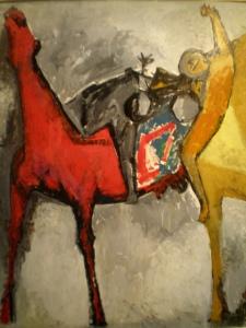 Ngựa đỏ - Marino Marini
