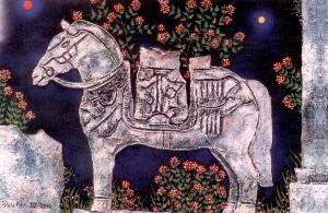 Ngựa, Tranh Bửu Chỉ