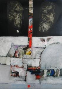 Om Sơn dầu trên canvas 16 x 20 in đinhcường
