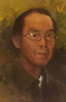 Họa sĩ Đinh Cường Tranh Nguyễn Trọng Khôi