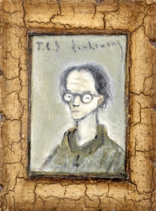 Chân dung Trịnh Công Sơn sơn dầu trên gỗ 8 x 10 in đinhcường