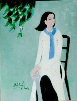 Thiếu nữ Tranh Thái Tuấn