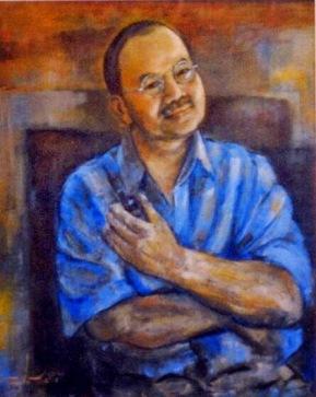 Ngô Vương Toại sơn dầu trên canvas Trương Vũ