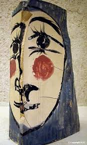 Một tác phẩm gốm của Picasso.