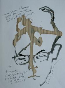 Khi hay tin Nguyễn Mộng Giác mất phác thảo đinhcường 7 - 2012