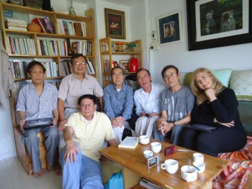 Nguyên Minh - Đỗ Hồng Ngọc - Đinh Cường - Lữ Kiều - Chu Trầm Nguyên Minh - Elena - Lữ Quỳnh (SG - 2013)