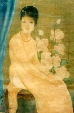 Chân dung thiếu nữ Lụa Tôn Thất Đào