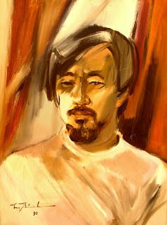 Hoàng Khởi Phong Trương Thị Thịnh vẽ