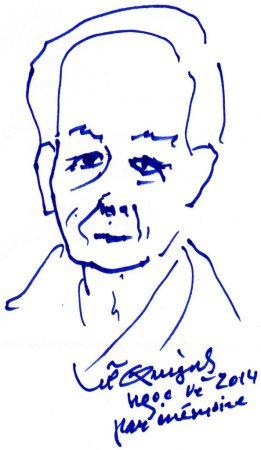 Lữ Quỳnh (nay) phác thảo Đỗ Hồng Ngọc