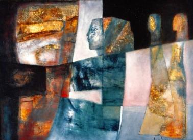 Ánh nắng sơn dầu trên canvas 30 x 40 in đinhcường