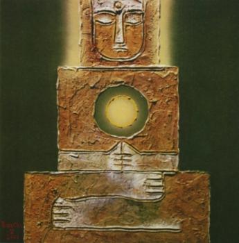 Phật sơn dầu trên canvas Bửu Chỉ