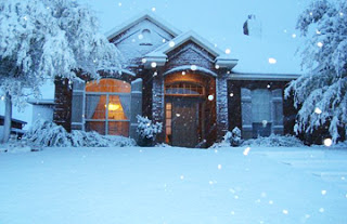 Tuyết ở Amarillo, TX.