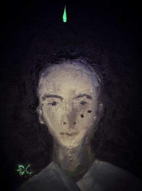 DC, vẽ chơi mấy nét sơn dầu Đinh Chinh, April 19- 2015