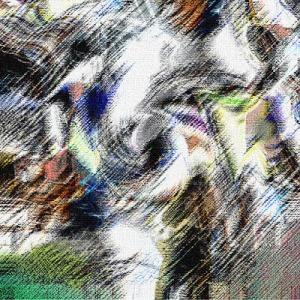 Coming home tranh digital Hoàng Ngọc Biên