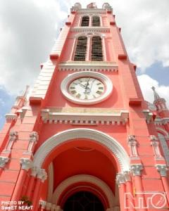 Nhà thờ Tân Định Nguồn: nhadepkientruc.com