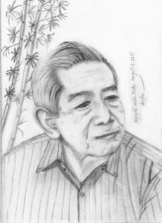 Chân dung Nguyễn Xuân Thiệp Duyên vẽ - August 15, 2015