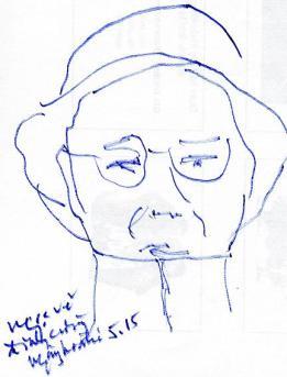 Đinh Cường - Ngày hóa trị tháng 5, 2015 đỗhồngngọc vẽ