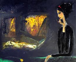 Thiếu nữ mùa thu tranh đinhtrườngchinh
