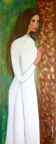 tranh Mùi Quý Bồng