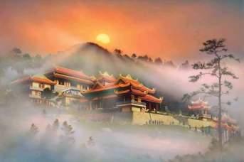 Thiền viện Trúc Lâm - Đà Lạt Photo by Hoàng Vĩnh Thao